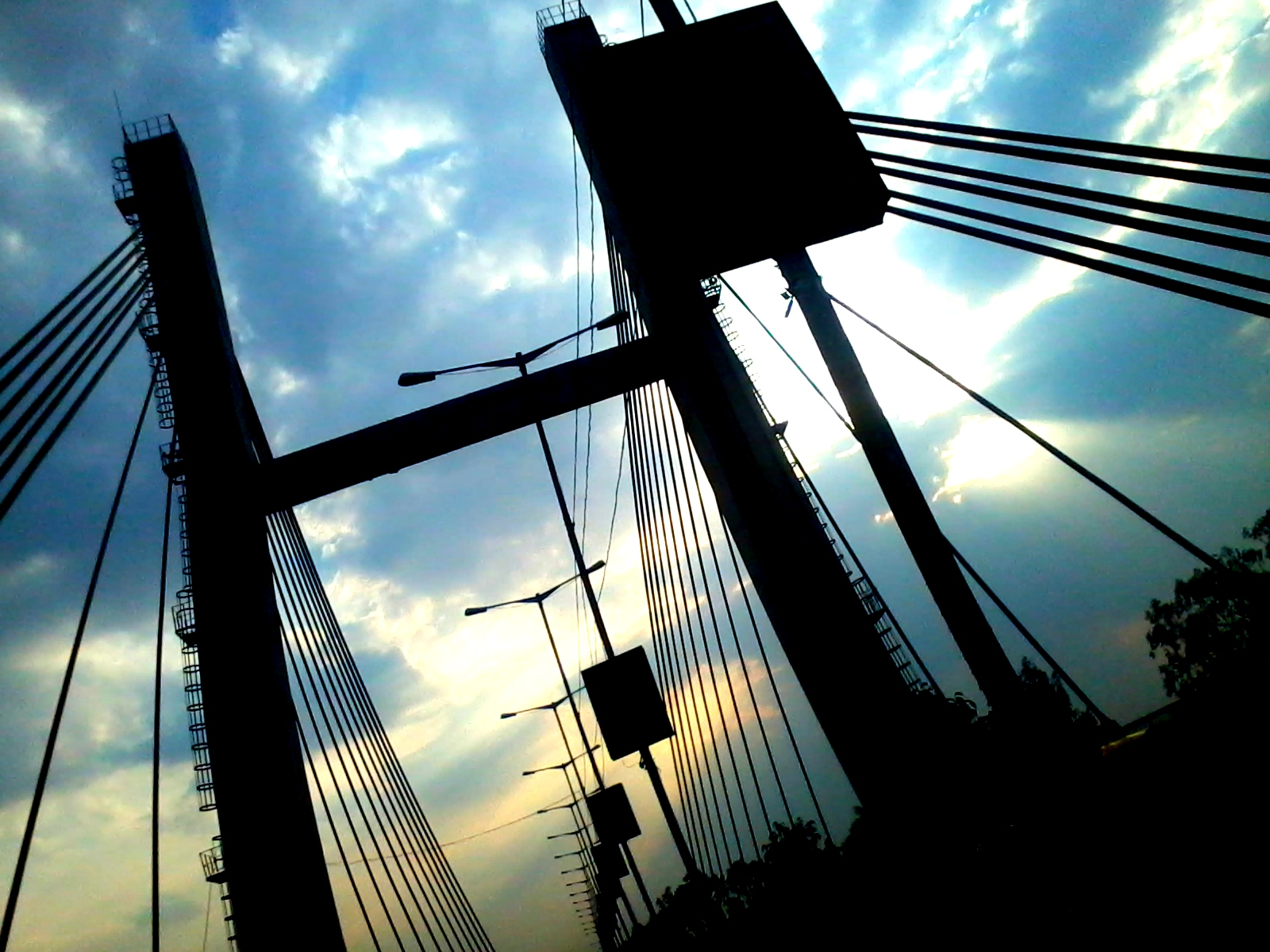 Kr Puram Hanging Bridge